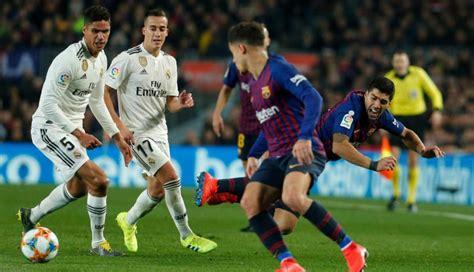 Real Madrid vs. Barcelona: revive las incidencias, goles y ...