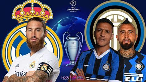 REAL MADRID VS INTER   EN VIVO UEFA CHAMPIONS LEAGUE ...