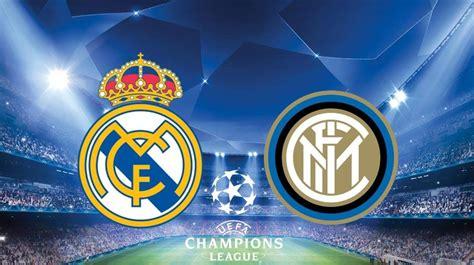 Real Madrid vs Inter Milan: Alineaciones del partido de la ...