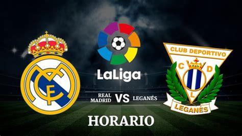 Real Madrid vs Leganés: Horario y canal de televisión