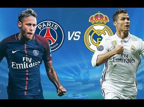 REAL MADRID VS PSG  Partido completo televisado HD  UEFA ...