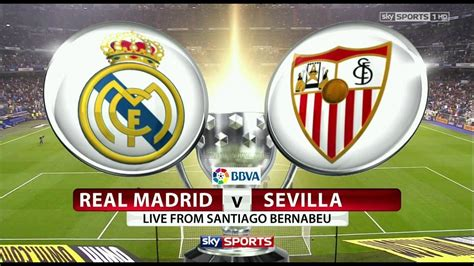 Real Madrid vs Sevilla Live Stream   Full Match En Vivo ...