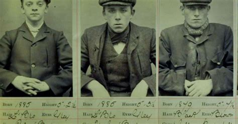 Real Peaky Blinders pictures unearthed in police archive ...