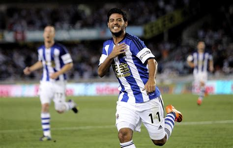 Real Sociedad's Carlos Vela to Sign With LAFC as First DP ...