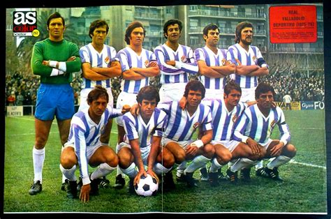 Real Valladolid of Spain team group in 1975 76. | Equipo ...