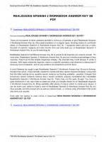 REALIDADES 2 WORKBOOK KEY 2B PDF
