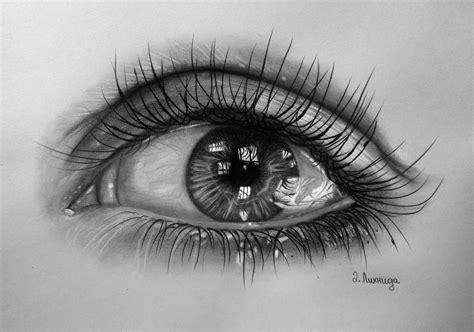 Realistic eye drawing by lihnida on DeviantArt