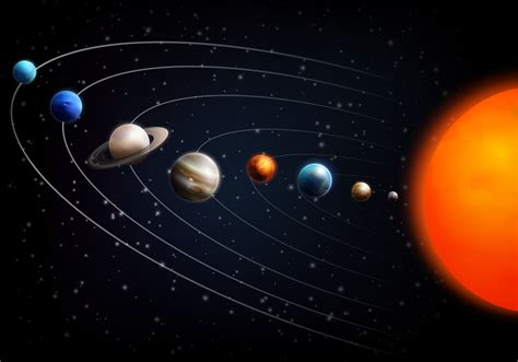 Realistic Space Background   Download Free Vectors ...