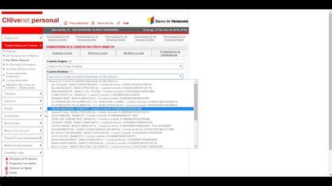Realiza Transferencias Desde el banco de Venezuela   YouTube