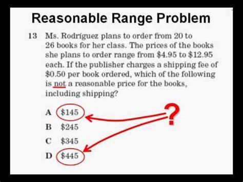 Reasonable Range Problem   YouTube