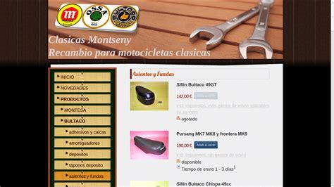 Recambios y asientos para motos clásicas, Bultaco, Ossa ...