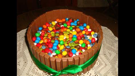 Receta 12: Tarta KitKat  con nutella, lacasitos y M&M s ...