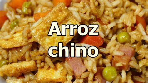 receta ARROZ FRITO CHINO TRES DELICIAS   recetas de cocina ...