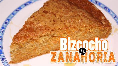 Receta: Bizcocho de Zanahoria   YouTube