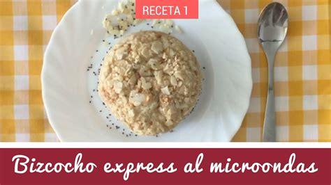 Receta: Bizcocho express de avena y yogur al microondas ...