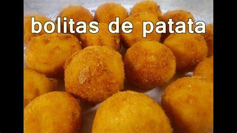 receta BOLITAS DE PAPA | recetas de cocina faciles rapidas ...
