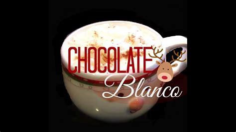 RECETA:CHOCOLATE BLANCO   YouTube