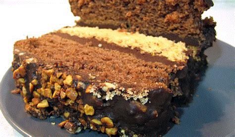 Receta de bizcocho bicolor con chocolate