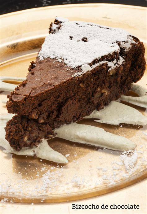 Receta de Bizcocho de chocolate sin gluten   Eva Arguiñano ...