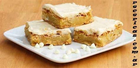 Receta de brownies de chocolate blanco   Recetas y Cocina ...