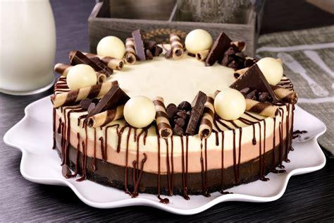 Receta de Cheesecake de 3 Chocolates