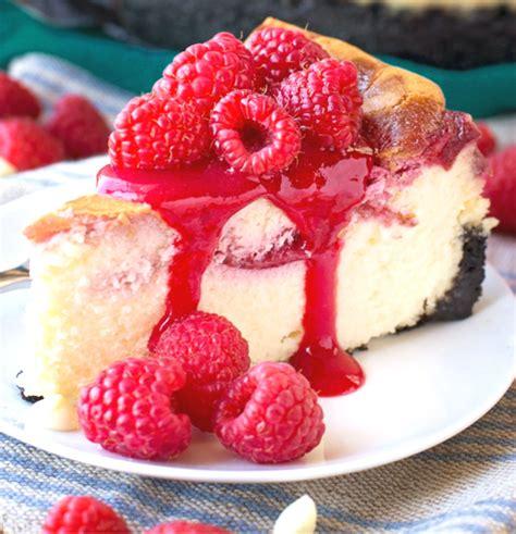 receta de cheesecake de chocolate blanco y frambuesa ...