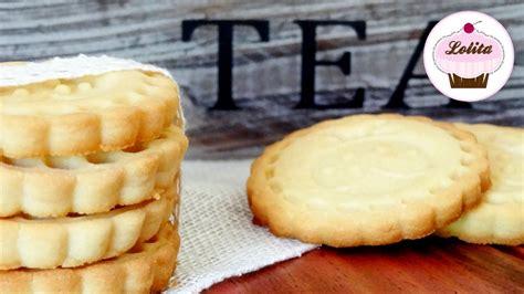 Receta de galletas de mantequilla caseras   Receta fácil ...