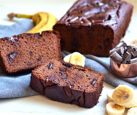receta de pan de platano con chocolate facil   CocinaDelirante