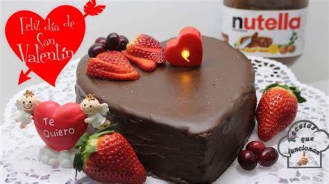 Receta de pastel de chocolate san valentín   Hatcook