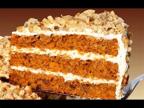 Receta de pastel de zanahoria y queso / Carrot cake recipe ...