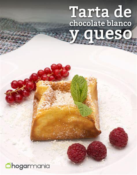 Receta de Tarta de chocolate blanco y queso   Eva Arguiñano