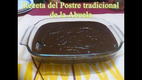 Receta de tarta de la abuela con chocolate y flan   YouTube