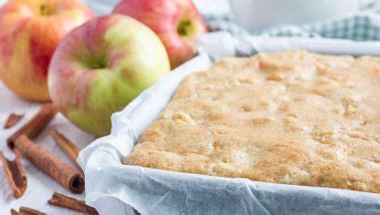 Receta de Tarta de manzana fácil sin gluten   Hogarmania