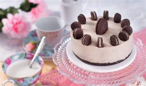 Receta de Tarta de Oreo y Chocolate blanco Sin Horno