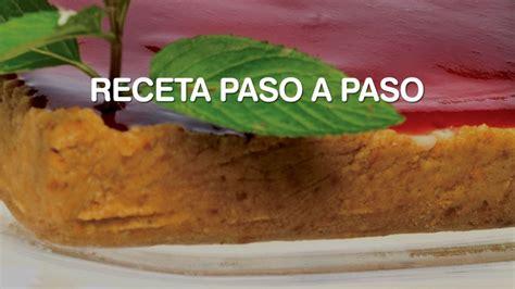 Receta de Tarta de queso  cheesecake    Eva Arguiñano