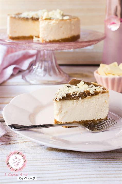 Receta de Tarta de Queso o Cheesecake de Chocolate Blanco ...