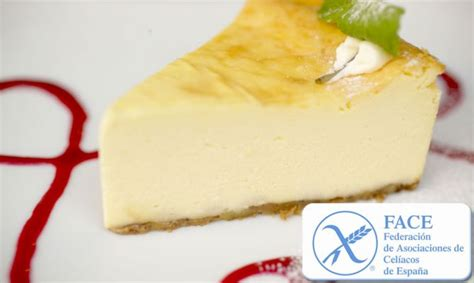 Receta de Tarta de queso para celíacos  sin gluten ...