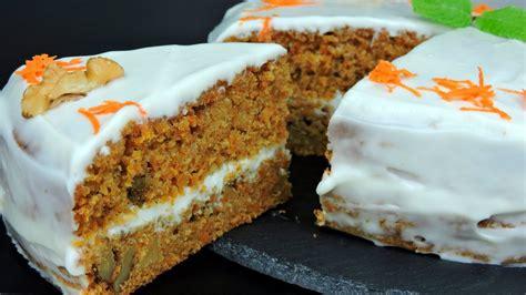 Receta de tarta de zanahoria fácil   YouTube