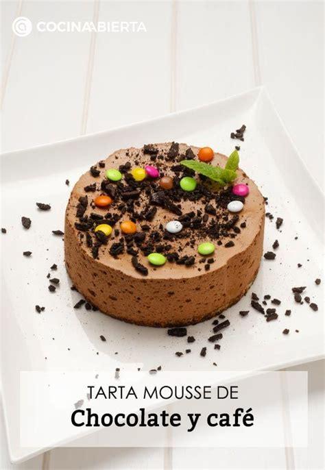 Receta de Tarta mousse de chocolate y café   Eva Arguiñano ...