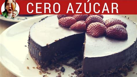 Receta de Tarta Mousse sin azúcar y sin horno // Tarta de ...