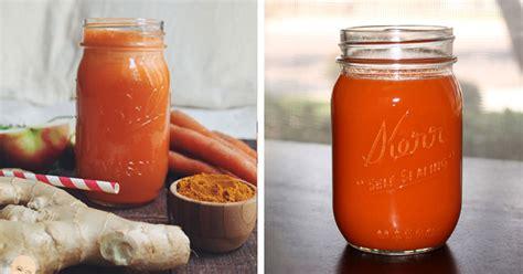 Receta de zumo de jengibre, zanahoria y cúrcuma para ...