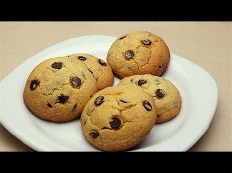 Receta fácil de galletas de mantequilla con chips de ...
