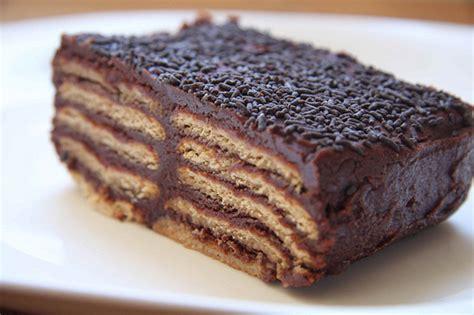 Receta Fácil: Torta de Galletas   Desayunos Perú BLOG
