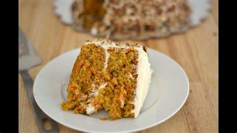 Receta Para Pastel de Zanahoria | Cómo Hacer Una Torta de ...