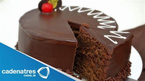 Receta para preparar pastel de chocolate. Receta de ...