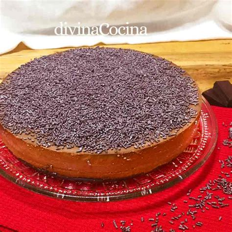 Receta Tarta de chocolate fácil sin horno | Mis Recetas ...