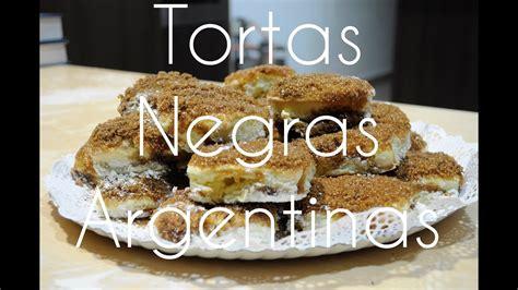 Receta Tortas Negras Argentinas/Bollería | Fácil y ...