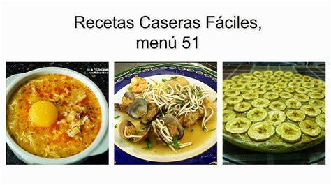 recetas de cocina faciles   Cocinar en casa es facilisimo.com