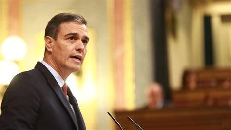 Rechazo del Congreso a la investidura de Pedro Sánchez en ...