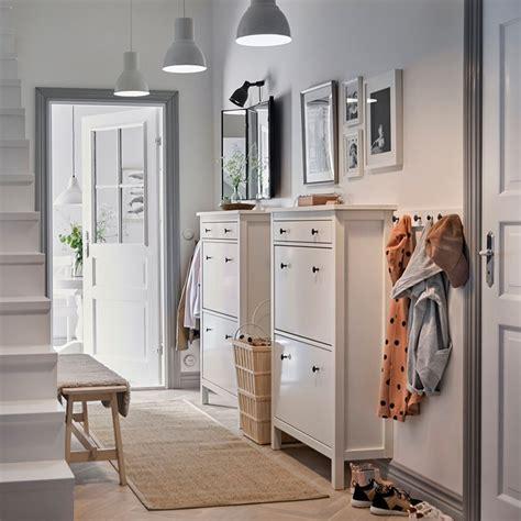 Recibidor con zapateros de IKEA | Recibidores ikea ...